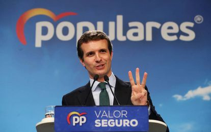 PP chief Pablo Casado on Tuesday.