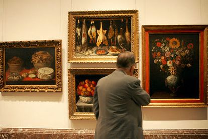 Paintings from Rosendo Naseiro's collection in the Prado, after being donated by BBVA bank.