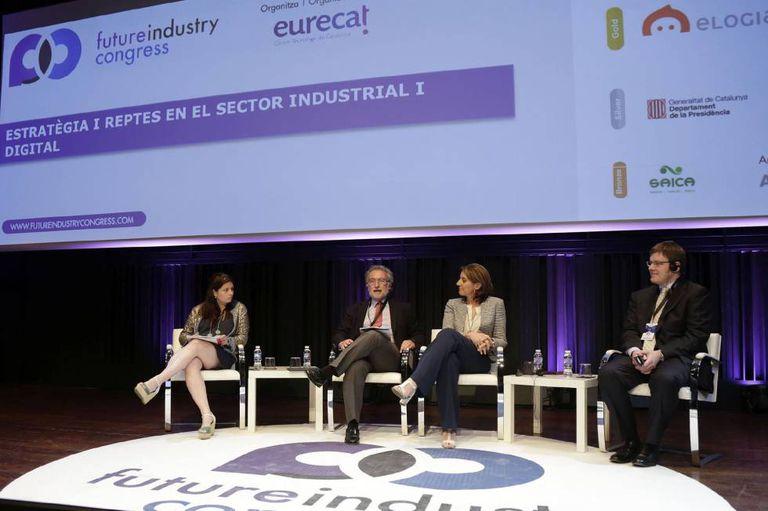 A Barcelona summit on digital technologies.