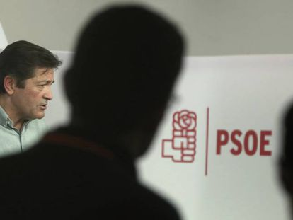 Javier Fernández, who leads an interim management team at the PSOE.
