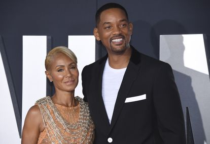 Jada Pinkett Smith and Will Smith, at the premiere of 'Gemini Man' in October 2020.