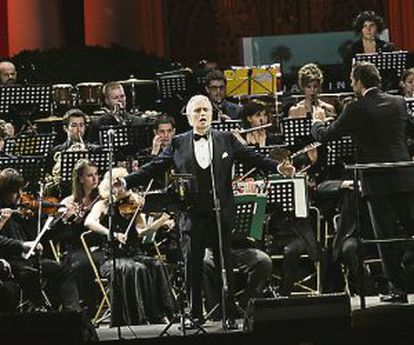Carreras on stage this summer in Barcelona.