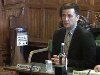 EL PAÍS Managing Editor David Alandete explains coverage before UK parliamentary inquiry into fake news