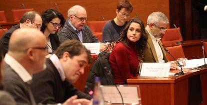 Ciudadanos leader Inés Arrimadas on Wednesday.