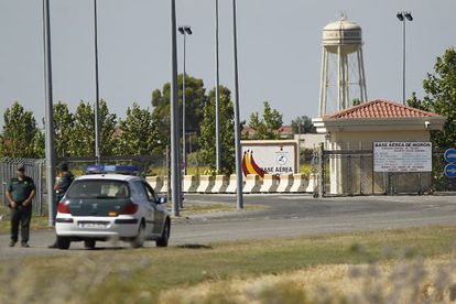 The air base at Morón de la Frontera (Seville).
