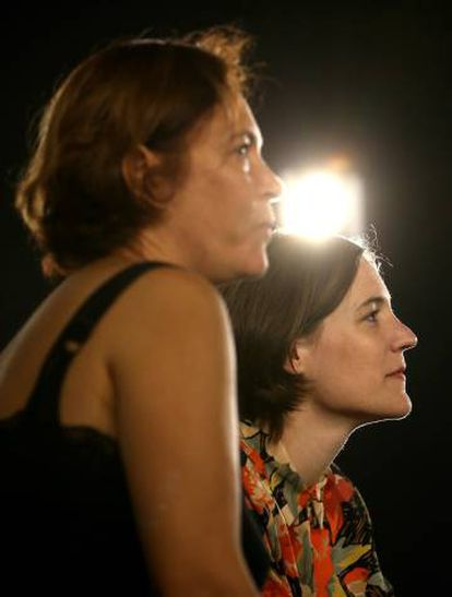 The director, Carla Simón (right), and the producer, Valérie Delpierre, of 'Summer 1993.'