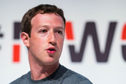 Mark Zuckerberg at the MWC in Barcelona on Monday.