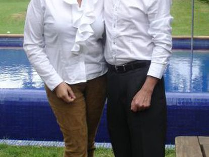 Ingrid Sartiau and Albert Solá both claim to be the children of Juan Carlos.