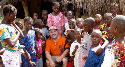 The missionary José Luis Garayoa has been in Sierra Leone for 10 years.