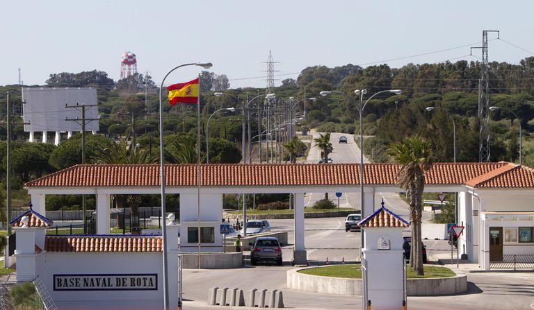 The US naval base in Rota (Cádiz).