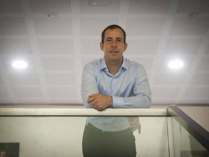 Javier Oliván, Facebook's vice president of expansion, pictured at the Mobile World Congress in Barcelona.