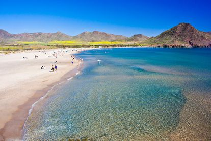 Cabo de Gata Natural Park is a volcanic complex that also features traces of human activity in the area ranging castles to 19th century mining villages and 20th century flour mills. As beautiful as the land is the sea that lines its coast, perfect for swimming and sailing.