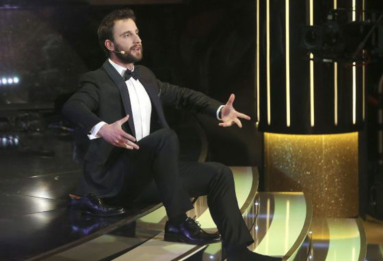 Goya Awards host Dani Rovira did his best to keep the audience interested.