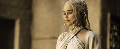 Emilia Clarke in 'Game of Thrones.'