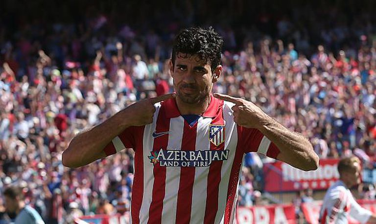 Diego Costa's form this season has interested his adopted country.