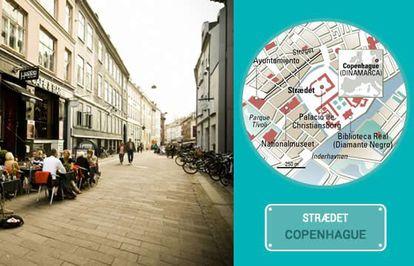 Straedet street in Copenhagen.