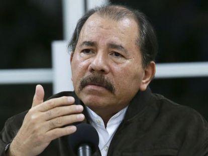 Nicaraguan President Daniel Ortega.