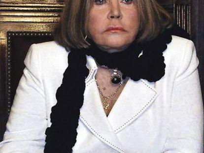 Buenos Aires judge María Servini de Cubría is investigating crimes committed under the Franco regime.