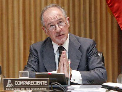 Former IMF chief and ex-Bankia chairman Rodrigo Rato.