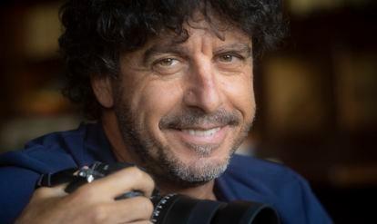 Photojournalist Emilio Morenatti in Madrid.