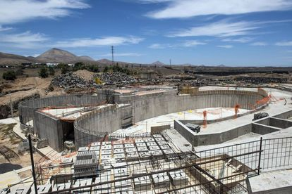 The new dolphin pool planned at Lanzarote's Rancho Texas.