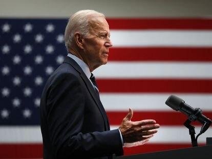 US President Joe Biden in a file photo.