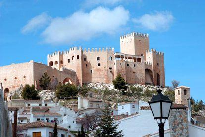 Vélez-Blanco Castle in Almería.