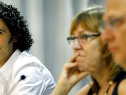 Pedro Zerolo (left) pictured in 2007.