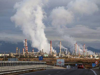 A petrochemical plant in Tarragona in Catalonia.