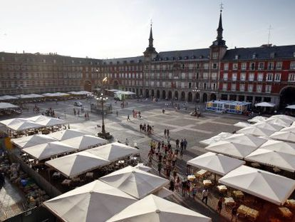 Madrid's Plaza Mayor could change its look significantly in the coming years.