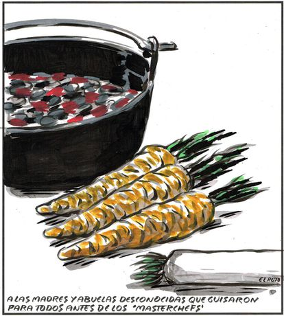 """To all the unknown mothers and grandmothers who made stews for everyone well before the """"Masterchefs."""""""
