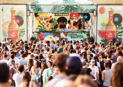The Mad Cool Festival in Madrid.