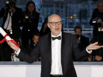 Juanjo Giménez earns Palme d'Or for his thriller 'Timecode'