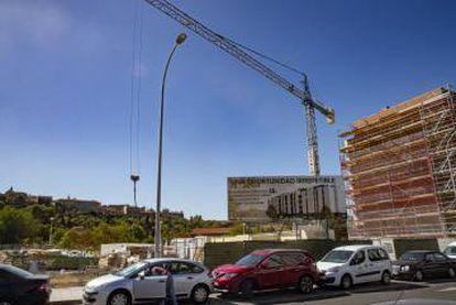 Apartments under construction in Vega Baja.