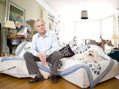 Richard Dawkins, in his Oxford home during the interview.