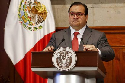Javier Duarte, former governor of the Mexican state of Veracruz.