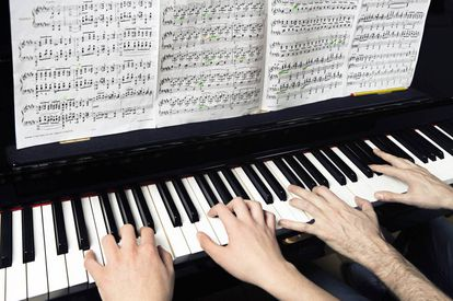 Piano student Nahuel Hagelstrom, 15, has dazzled British pianist James Rhodes who is now teaching him a few tricks of the trade.