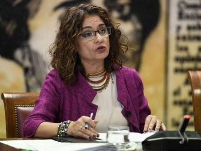 Spanish Finance Minister María Jesús Montero.