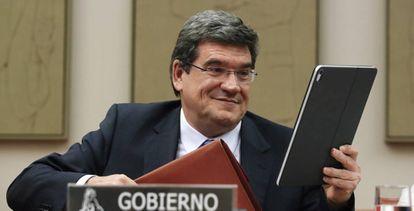 Spain's Social Security Minister José Luis Escrivá.