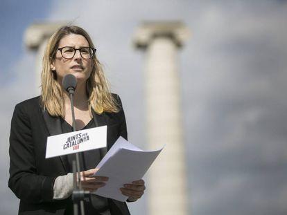 Elsa Artadi, the Catalan government spokesperson.