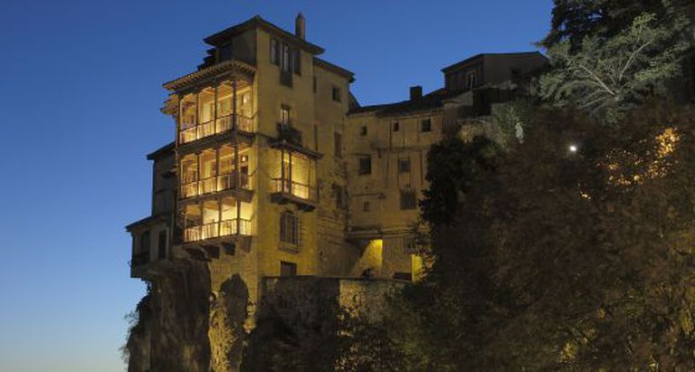 Cuenca's Hanging Houses, where the museum is located.