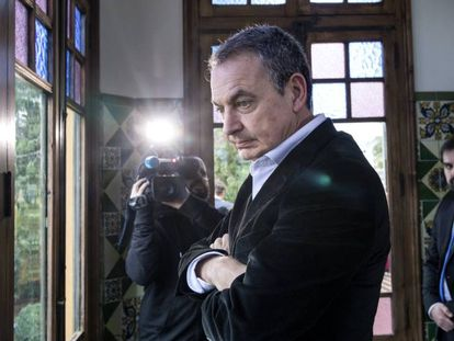 Former prime minister José Luis Rodríguez Zapatero in a file photo.