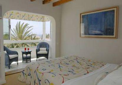 A room at the miKasa Suites & Spa hotel in Agua Amarga (Almería).