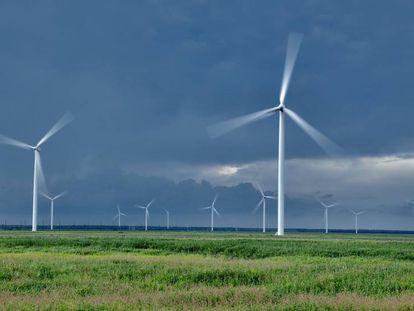 Iberdrola's wind farm for Amazon in North Carolina.