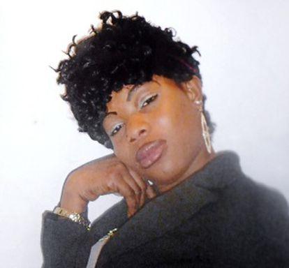 One of the victims of the bogus kung-fu master, Maureen Ada Otuya.