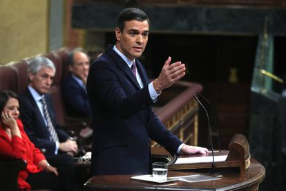 Caretaker Prime Minister Pedro Sánchez.