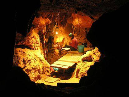 El Sidrón cave in Piloña (Asturias).