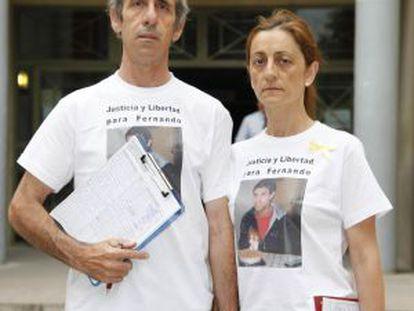 Fernando Enrique Muñoz's parents, Fernando and Teresa.
