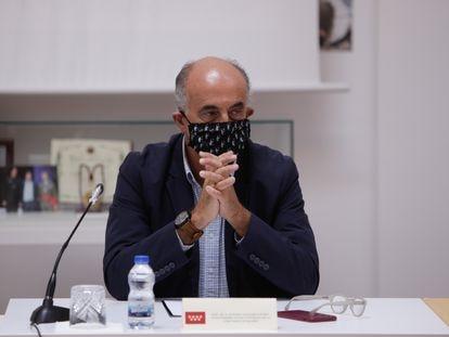 Madrid deputy health chief Antonio Zapatero in a file photo.