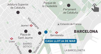 The Cabinet meeting will be held in Casa Llotja de Mar.